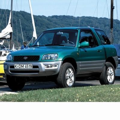 Autó izzók halogén izzóval szerelt Toyota RAV4 (1997-2000)-hez