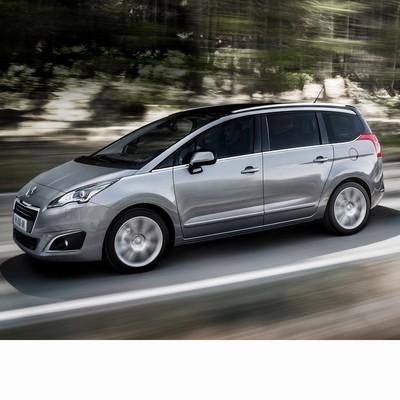 Autó izzók a 2012 utáni halogén izzóval szerelt Peugeot 5008-hoz