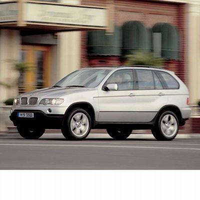 Autó izzók halogén izzóval szerelt BMW X5 (2000-2002)-höz