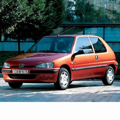 For Peugeot 106 (1996-2004) with Halogen Lamps