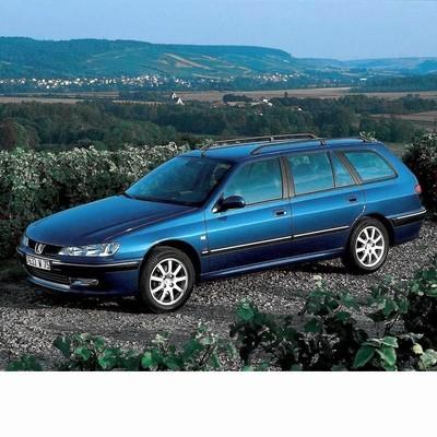Autó izzók halogén izzóval szerelt Peugeot 406 Kombi (1996-2005)-hoz