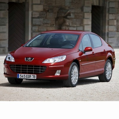 For Peugeot 407 (2004-2010) with Halogen Lamps