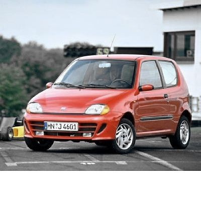 For Fiat Seicento (1998-2010) with Halogen Lamps