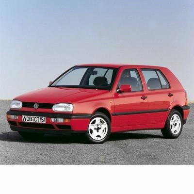 For Volkswagen Golf III (1991-1998) with Two Halogen Lamps