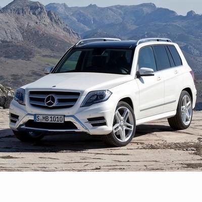 Autó izzók a 2012 utáni halogén izzóval szerelt Mercedes GLK-hoz