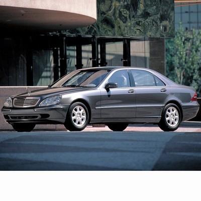 Autó izzók xenon izzóval szerelt Mercedes S (1998-2005)-hez