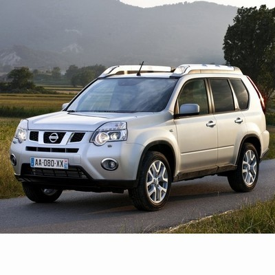 For Nissan X-Trail (2010-2013) with Halogen Lamps