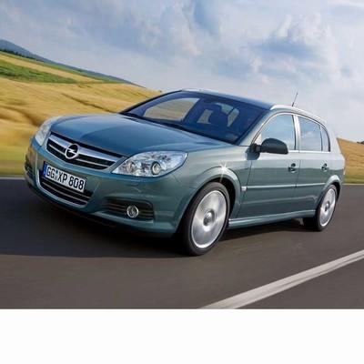 Autó izzók halogén izzóval szerelt Opel Signum (2006-2008)-hoz