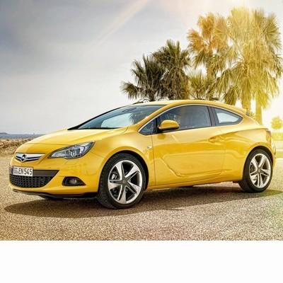 Autó izzók a 2011 utáni halogén izzóval szerelt Opel Astra J GTC-hez