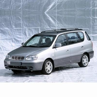 Autó izzók halogén izzóval szerelt Kia Carens (1999-2002)-hez