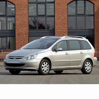 Autó izzók halogén izzóval szerelt Peugeot 307 Kombi (2002-2005)-hoz