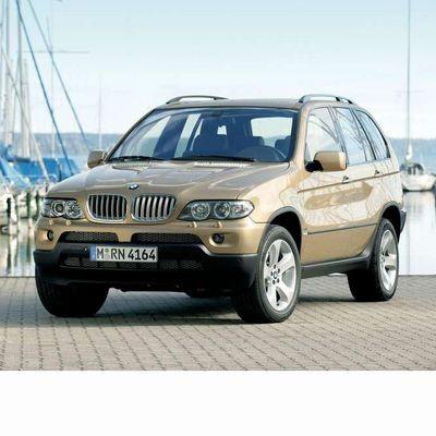 Autó izzók xenon izzóval szerelt BMW X5 (2002-2006)-höz