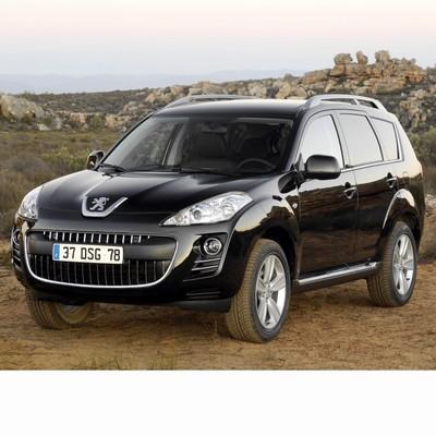 Autó izzók halogén izzóval szerelt Peugeot 4007 (2007-2012)-hez