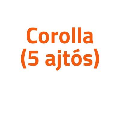 Toyota Corolla (5 ajtós) autó izzó