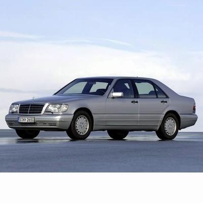 Mercedes S (1991-1998) autó izzó