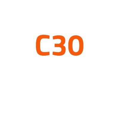 Volvo C30 autó izzó