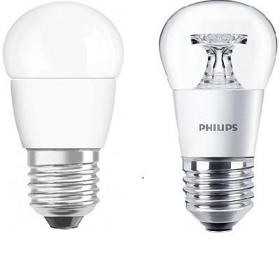 Kisgömb forma E27 LED