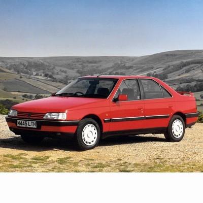 Autó izzók halogén izzóval szerelt Peugeot 405 (1987-1997)-höz