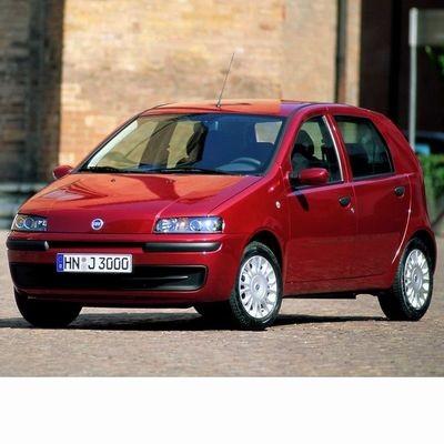 Fiat Punto (1999-2005) autó izzó