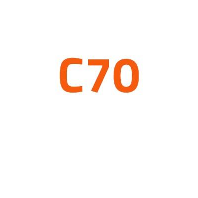 Volvo C70 autó izzó