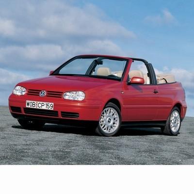 Volkswagen Golf IV Cabrio (1998-2002) autó izzó
