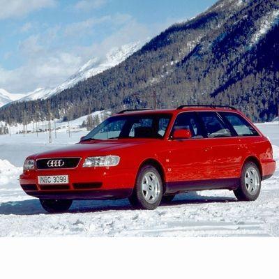 Autó izzók halogén izzóval szerelt Audi A6 Avant (1994-1997)-hoz