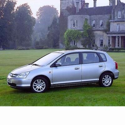 Autó izzók halogén izzóval szerelt Honda Civic (2000-2003)-hez