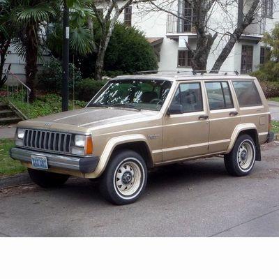 Autó izzók halogén izzóval szerelt Jeep Cherokee (1984-2001)-hoz