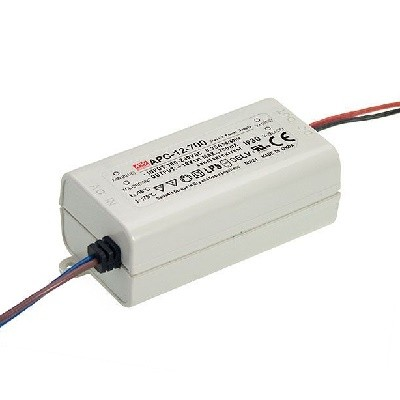 MEAN WELL Currentgenerator 350-1400mA LED ECG