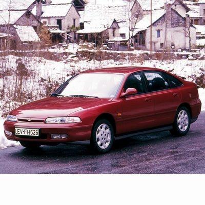 Mazda 626 (1991-1997) autó izzó