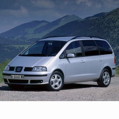 For Seat Alhambra (2004-2010) with Halogen Lamps