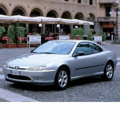 For Peugeot 406 Coupe (1997-2003) with Halogen Lamps