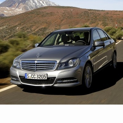 For Mercedes C Sedan (2011-2014) with Halogen Lamps