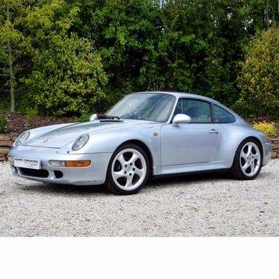 Autó izzók halogén izzóval szerelt Porsche 911 (1993-1997)-hez