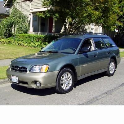 Autó izzók halogén izzóval szerelt Subaru Outback (1998-2003)-hez