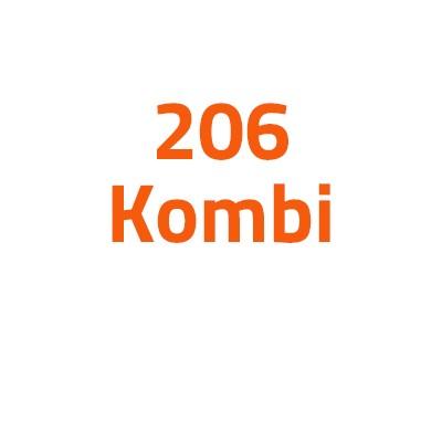 Peugeot 206 Kombi autó izzó