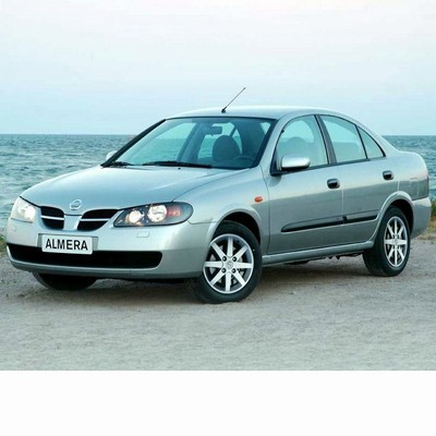 For Nissan Almera Sedan (2003-2006) with Halogen Lamps