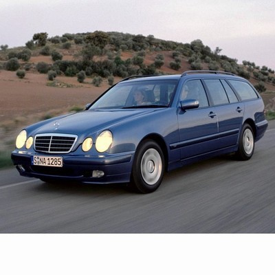 For Mercedes E Kombi (1996-2003) with Halogen Lamps