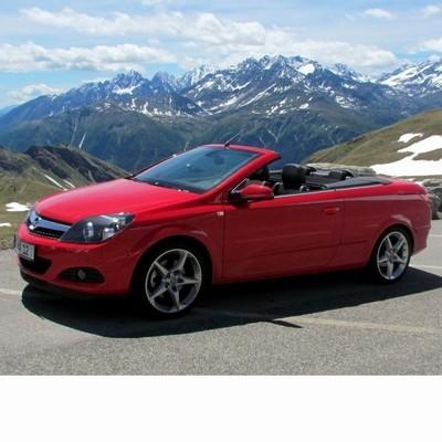Autó izzók halogén izzóval szerelt Opel Astra H Cabrio (2005-2010)-hoz