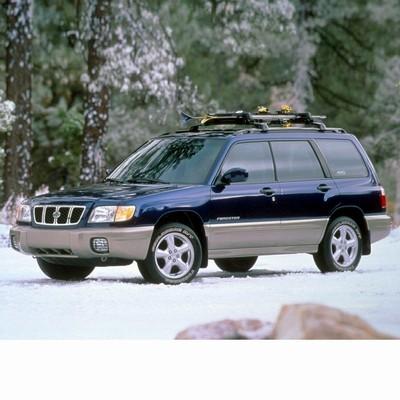 Autó izzók halogén izzóval szerelt Subaru Forester (1997-1999)-hez