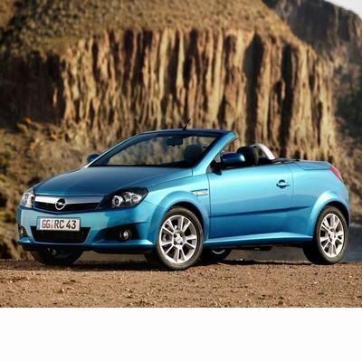 Autó izzók halogén izzóval szerelt Opel Tigra Twin Top (2004-2009)-hoz
