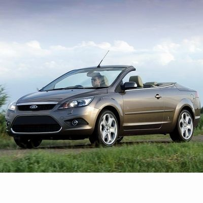 For Ford Focus Cabrio (2008-2010) with Halogen Lamps