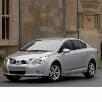 Autó izzók a 2009 utáni halogén izzóval szerelt Toyota Avensis Sedan-hoz
