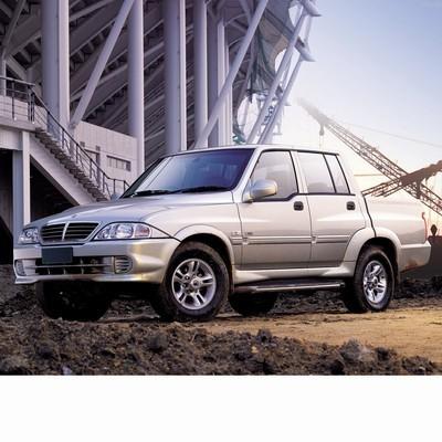 Autó izzók halogén izzóval szerelt Ssangyong Musso Sports (2002-2005)-hoz