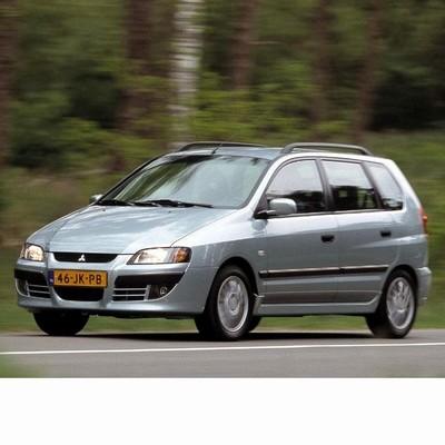 Autó izzók halogén izzóval szerelt Mitsubishi Space Star (2002-2004)-hoz
