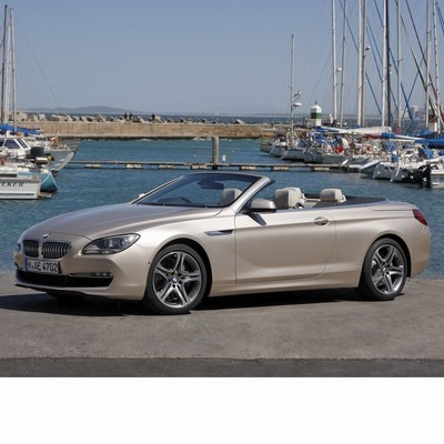 BMW 6 Cabrio (F12) 2011