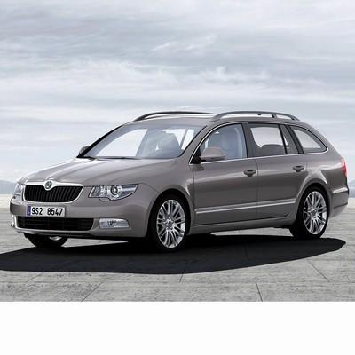 Autó izzók a 2009 utáni halogén izzóval szerelt Skoda Superb Kombi-hoz