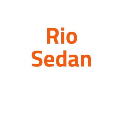 Kia Rio Sedan autó izzó