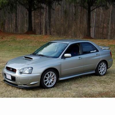 Autó izzók két halogén izzóval szerelt Subaru Impreza Sedan (2002-2007)-hoz