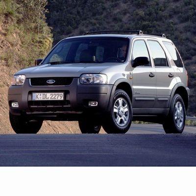 Autó izzók két halogén izzóval szerelt Ford Maverick (2001-2006)-hez